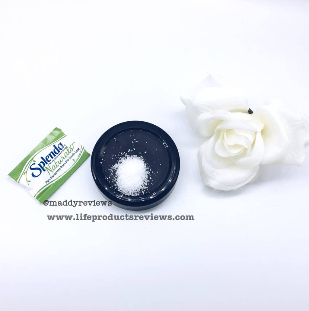 Splenda Naturals Stevia granules demonstration display sample free