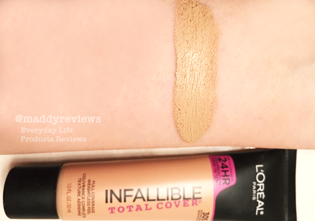Contour With L Oreal Infallible Total Cover 24 Hours Foundation And Blender