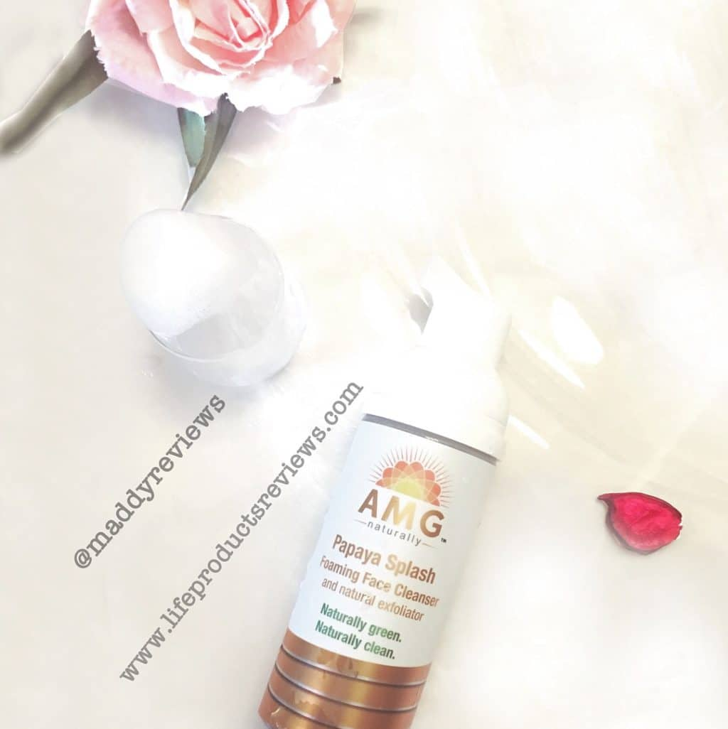 Age more gracefully naturally natural facial cleanser wash gentle smooth purify clean