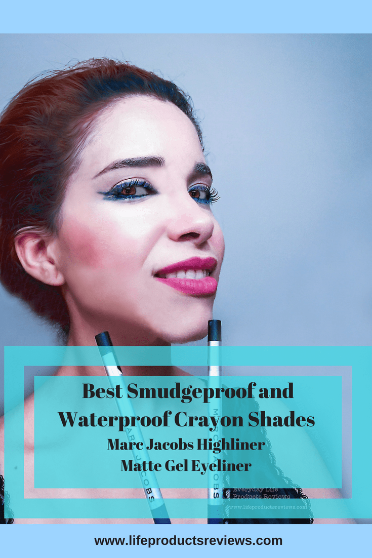 Best Smudgeproof and Waterproof Crayon Shades Marc Jacobs Highliner Matte Gel