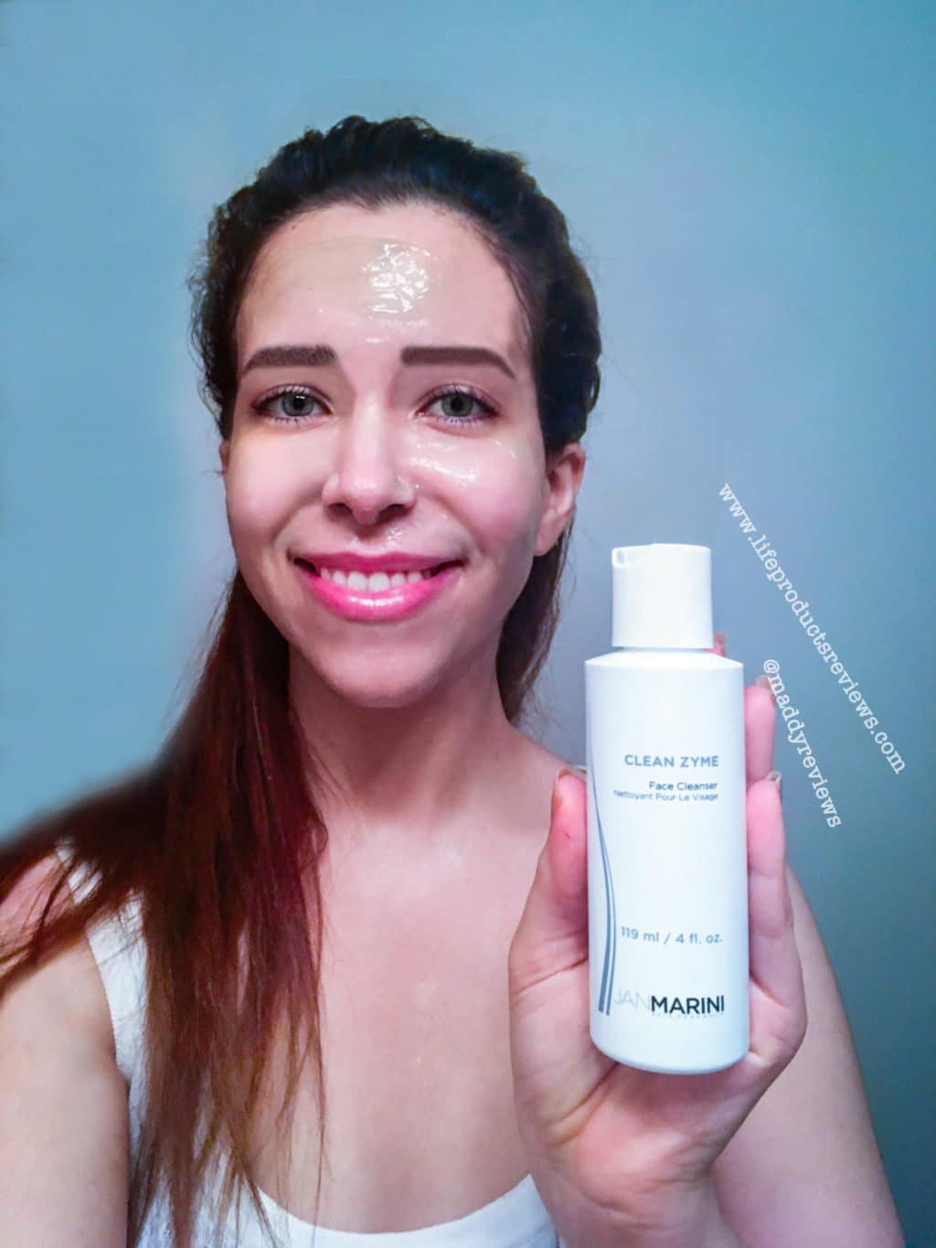 Jan Marini before and after demo model demonstration facial