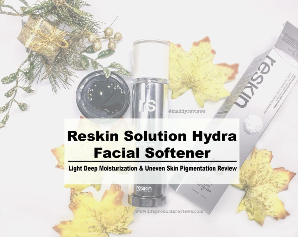 Reskin Facial Softner Solution full detailed in depth review