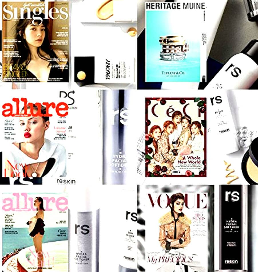 Reskin skin care hydra facial softener allure vogue fashion magazine