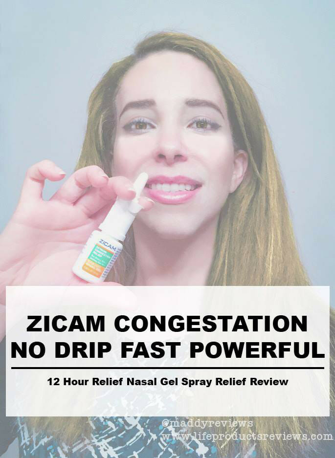 Zicam Congestion no Drip powerful sign