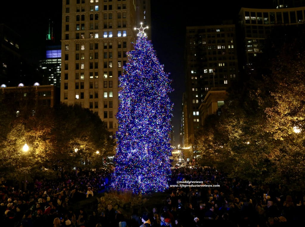 Christmas-tree-chicago-travel-downtown