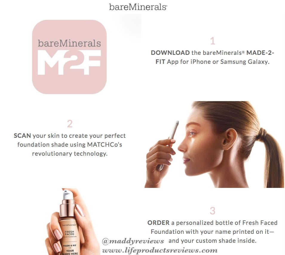 Bare-minerals-fresh-faced-made-2-fit-steps-using-the-iphone-andriod-samsung-galaxy-app