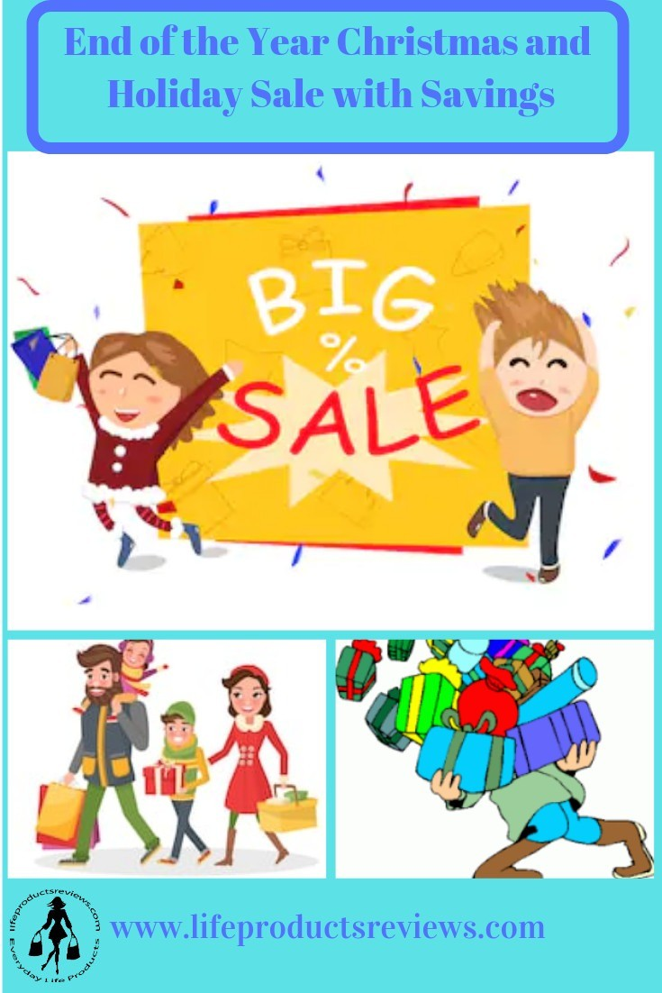 End of the Year Sale Big Sale Black Friday Cyber Monday Boxing Day weekend