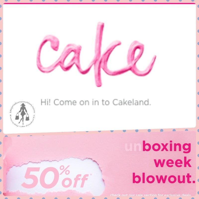 Cake Beauty boxing day