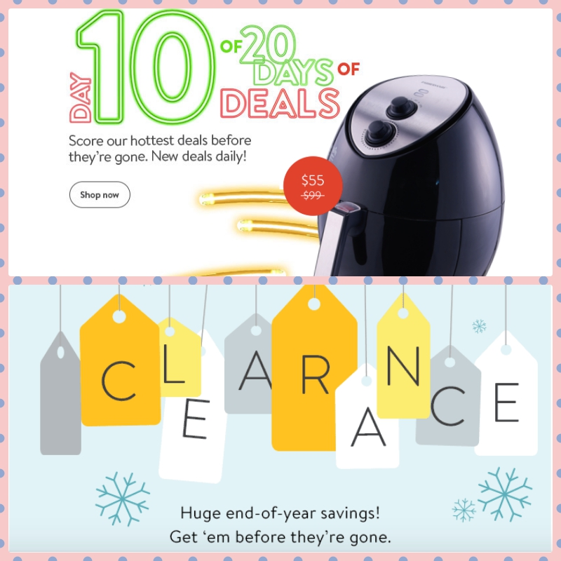 Walmart Sales Deals clearance end of the year sale