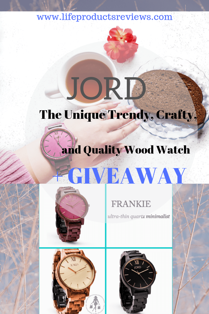 JORD-The-Unique-Trendy-Crafty-quality-wood-watch-Giveaway