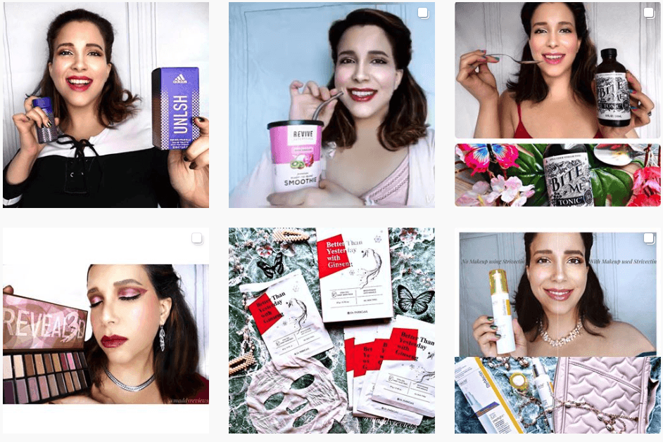 Instagram-skincare-haircare-makeup-health-supplements-review