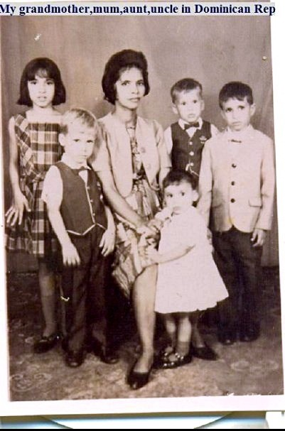 Grandma-mother-brothers-and-sister-the-Dominican-Republic-ancestry-dna-adn-republica-dominicana