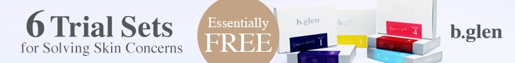 Try one of 6 Essentially Free Trial Sets for Solving Skin Problems at b.glen! *Sign up for One Price Subscription within 30 days of purchasing the trial set for a full refund of $20 spent on the trial set. Refund limited to one set per person. Learn More!
